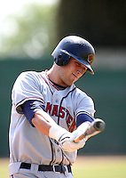 April 20, 2008:  Boston Red Sox prospect Lars Anderson playing with the Lancaster Jethawks against the Bakersfield Blaze.  Photo by:  Bill Mitchell/Four Seam Images