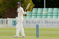 Daniel Lawrence of Essex celebrates scoring fifty runs during Worcestershire CCC vs Essex CCC, LV Insurance County Championship Group 1 Cricket at New Road on 30th April 2021