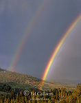 Double Rainbow, Sonoran Pass, Carson-Iceberg Wilderness, Stanislaus National Forest, Sierra Nevada Mountains, California