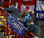 Rangers fans banner