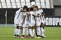 Rio de Janeiro (RJ), 03/03/2021 - Botafogo-Boavista - Jogadores do Botafogo,durante partida contra o Boavista,válida pela 1ª rodada da Taça Guanabara,realizada no Estádio Nilton Santos (Engenhão), na zona norte do Rio de Janeiro,nesta quarta-feira (03).