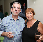 Sam Rudy and Susan L. Schulman attend the Retirement Celebration for Sam Rudy at Rosie's Theater Kids on July 17, 2019 in New York City.