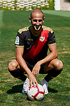 Alex Galvez during his Official presentation as new player of Rayo Vallecano at Ciudad Deportiva Rayo Vallecano in Madrid, Spain. September 11, 2018. (ALTERPHOTOS/A. Perez Meca)