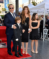 LOS ANGELES, CA. October 10, 2019: Tommy Mottola, Thalia Mottola & Family at the Hollywood Walk of Fame Star Ceremony honoring Tommy Mottola.<br /> Pictures: Paul Smith/Featureflash