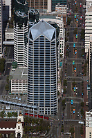 aerial photograph of One America Plaza, 600 West Braodway, San Diego, California
