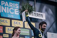 stage winner Jérôme Cousin (FRA/Direct Energie)<br /> <br /> 76th Paris-Nice 2018<br /> stage 5: Salon-de-Provence > Sisteron (165km)