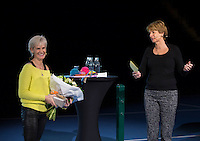 Rotterdam, Netherlands, December 16,  2016, Topsportcentrum,  Coaches Congress , Judy Murray.<br /> Photo: Tennisimages/Henk Koster