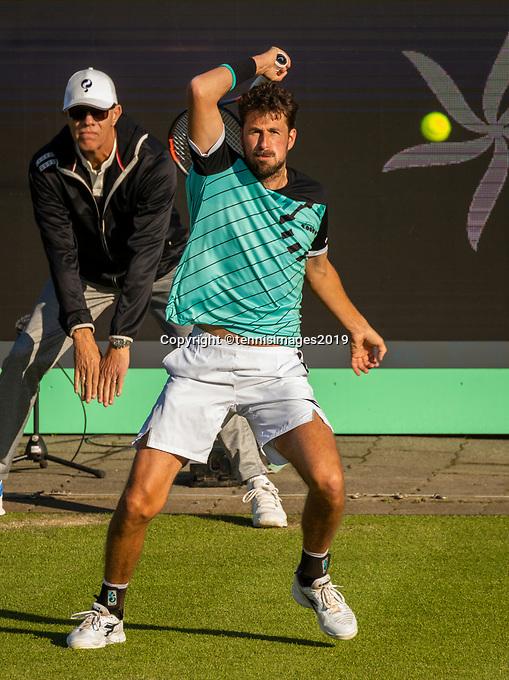 Rosmalen, Netherlands, 11 June, 2019, Tennis, Libema Open, Robin Haase (NED)<br /> Photo: Henk Koster/tennisimages.com
