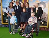 "LOS ANGELES, USA. January 11, 2020: Stephen Gaghan, Minnie Mortimer & Family at the premiere of ""Dolittle"" at the Regency Village Theatre.<br /> Picture: Paul Smith/Featureflash"