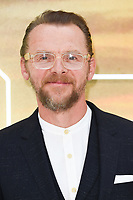 """Simon Pegg<br /> arriving for the """"Once Upon a Time... in Hollywood"""" premiere, Leicester Square, London<br /> <br /> ©Ash Knotek  D3514  30/07/2019"""