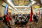 A view of the World Cup of Poker Tournament area