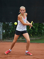 August 8, 2014, Netherlands, Rotterdam, TV Victoria, Tennis, National Junior Championships, NJK,  Elysia Pool (NED)<br /> Photo: Tennisimages/Henk Koster