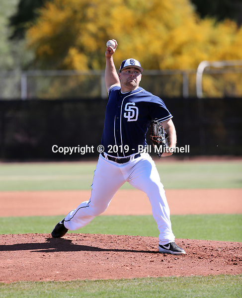 David Bednar - San Diego Padres 2019 spring training (Bill Mitchell)