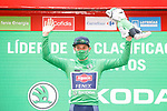 Jasper Philipsen (BEL) Alpecin-Fenix wins Stage 5 and takes over the points Green Jersey of La Vuelta d'Espana 2021, running 184.4km from Tarancón to Albacete, Spain. 18th August 2021.    <br /> Picture: Luis Angel Gomez/Photogomezsport   Cyclefile<br /> <br /> All photos usage must carry mandatory copyright credit (© Cyclefile   Luis Angel Gomez/Photogomezsport)