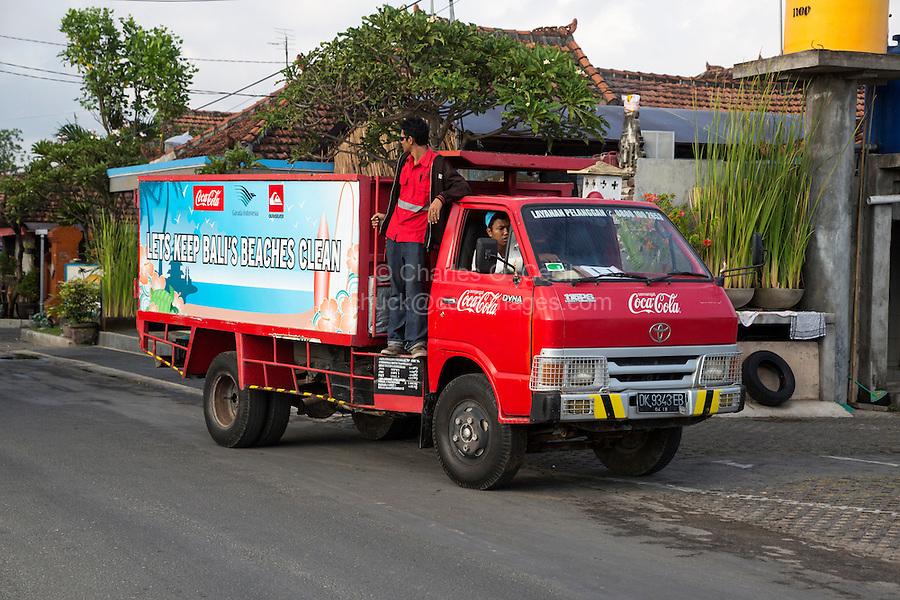 Bali, Indonesia.  Public Cleanliness Campaign: Keep Bali's Beaches Clean.