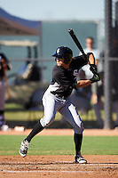 Chicago White Sox Jameson Fisher (23) during an Instructional League game against the Los Angeles Dodgers on October 15, 2016 at the Camelback Ranch Complex in Glendale, Arizona.  (Mike Janes/Four Seam Images)
