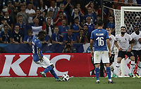 International friendly football match France vs Italy, Allianz Riviera, Nice, France, June 1, 2018. <br /> Italy's Mario Balotelli (l) in action during the international friendly football match between France and Italy at the Allianz Riviera in Nice on June 1, 2018.<br /> UPDATE IMAGES PRESS/Isabella Bonotto