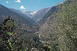 Upper Beas Valley is the northern reach of the Kullu Valley, originally known as Kulanthapitha (End of the Habitable World). Alexander the Great, Buddha and the Tantric sage Padmasambhava all passed through the valley at some point.In more ancient times the area was visited by Arjuna, Bhrigu Muni and Vyasadeva..Kullu Valley, Himachal Pradesh, India.