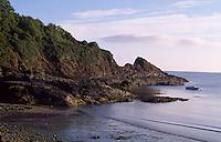 Großbritannien, Wales, Küste bei Fishguard