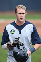Nate Robertson #26 of the Hillsboro Hops during a game against the Vancouver Canadians at Nat Bailey Stadium on July 24, 2014 in Vancouver, British Columbia. Vancouver defeated Hillsboro, 5-2. (Larry Goren/Four Seam Images)