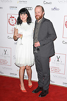 Alice Lowe and Steve Oram<br /> at the 2017 Critic's Circle Film Awards held at the Mayfair Hotel, London.<br /> <br /> <br /> ©Ash Knotek  D3219  22/01/2017
