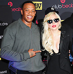 Dr. Dre & Lady Gaga  make an appearance in support of her new cd The Fame Monster! and also for Heartbeats by Lady Gaga headphones. The appearance took place at Best Buy in Los Angeles, California on November 23,2009                                                                   Copyright 2009 DVS / RockinExposures