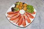 Parma Ham, Appetizer, Godo Restaurant, Florence, Italy