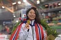 SPEEDSKATING: HAMAR: Vikingskipet, 29-02-2020, ISU World Speed Skating Championships, Sprint, World Champion, Miho Takagi (JPN), ©photo Martin de Jong