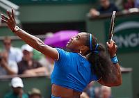 Paris, France, 28 June, 2016, Tennis, Roland Garros, Serena Williams (USA)<br /> Photo: Henk Koster/tennisimages.com