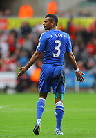 Saturday, 03 November 2012<br /> Pictured: Ashley Cole of Chelsea<br /> Re: Barclays Premier League, Swansea City FC v Chelsea at the Liberty Stadium, south Wales.