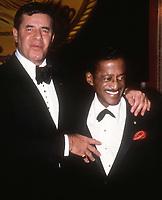 Jerry Lewis Sammy Davis Jr.1982<br /> Photo By Adam Scull/PHOTOlink.net