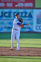 Moises Perez (10) of the Ogden Raptors during the game against the Orem Owlz at Lindquist Field on June 22, 2019 in Ogden, Utah. The Owlz defeated the Raptors 7-4. (Stephen Smith/Four Seam Images)