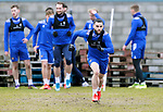 St Johnstone Training....24.02.21<br />Craig Conway pictured during training at McDiarmid Park ahead of Sunday's BETFRED Cup Final against Livingston at Hampden Park.<br /><br />Picture by Graeme Hart.<br />Copyright Perthshire Picture Agency<br />Tel: 01738 623350  Mobile: 07990 594431