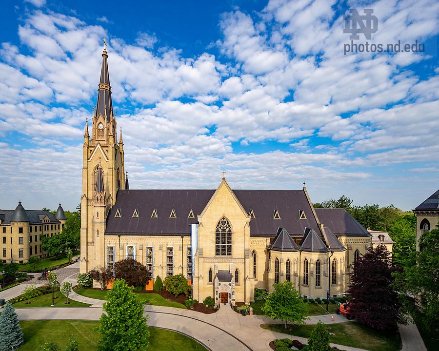 June 17, 2020; Basilica of the Sacred Heart (Photo by Matt Cashore/University of Notre Dame)
