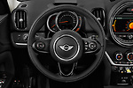 Car pictures of steering wheel view of a 2018 Mini Countryman S 5 Door Hatchback