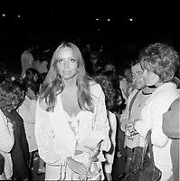 la premiere femme de Rene Angelil ; Anne Renee, <br /> vers 1967<br /> (date exacte inconnue)<br /> <br /> PHOTO : Agence Quebec Presse - Roland lachance