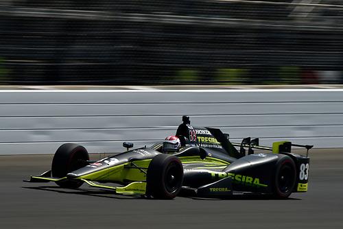 Verizon IndyCar Series<br /> Indianapolis 500 Carb Day<br /> Indianapolis Motor Speedway, Indianapolis, IN USA<br /> Friday 26 May 2017<br /> Charlie Kimball, Chip Ganassi Racing Teams Honda<br /> World Copyright: Scott R LePage<br /> LAT Images<br /> ref: Digital Image lepage-170526-indy-9613