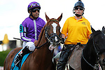 May 17, 2014. Pablo Del Monte, Jeffrey Sanchez up, in the Preakness post parade.California Chrome, Victor Espinoza up, wins the 139th Preakness Stakes at Pimlico Race Course in Baltimore, MD. ©Joan Fairman Kanes/ESW/CSM