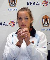 29-1-09, Almere, Training Fedcup team, Arantxa Rus