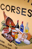 """France/Corse/Corse-du-Sud/2A/Porto-Vecchio: Enseigne du magasin de spécialités corses """"U Tavonu"""""""