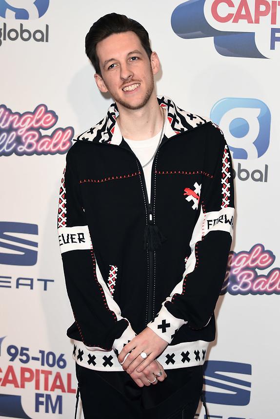 Sigala<br /> at the 2019 Jingle Bell Ball, O2 Arena, London.<br /> <br /> ©Ash Knotek  D3544 08/12/2019