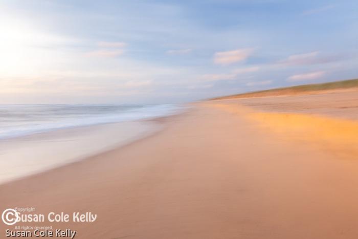 A dreamy morning at Coast Guard Beach, Cape Cod National Seashore, Eastham, MA, USA