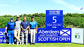 \{prsn}\ during the ProAm ahead of the 2017 Aberdeen Asset Management Scottish Open played at Dundonald Links from 13th to 16th July 2017: Picture Stuart Adams, www.golftourimages.com: 12/07/2017