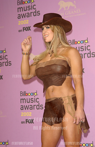 Wrestler JOANIE LAURER (CHYNNA) at the 2002 Billboard Music Awards at the MGM Grand, Las Vegas..09DEC2002..© Paul Smith / Featureflash