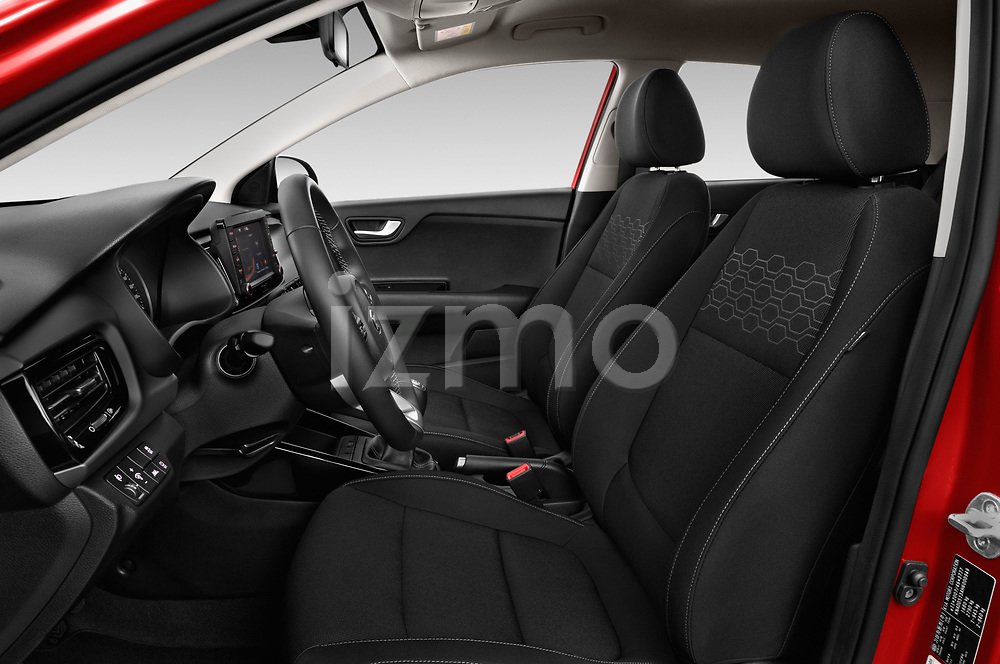 Front seat view of 2017 KIA Rio Fusion 5 Door Hatchback Front Seat  car photos