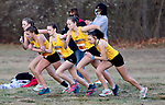 WATERTOWN CT. - 16 November 2020-111620SV07-Runners from Thomaston take off with other Berkshire League runners during the Berkshire League cross country championships in Watertown Monday.<br /> Steven Valenti Republican-American