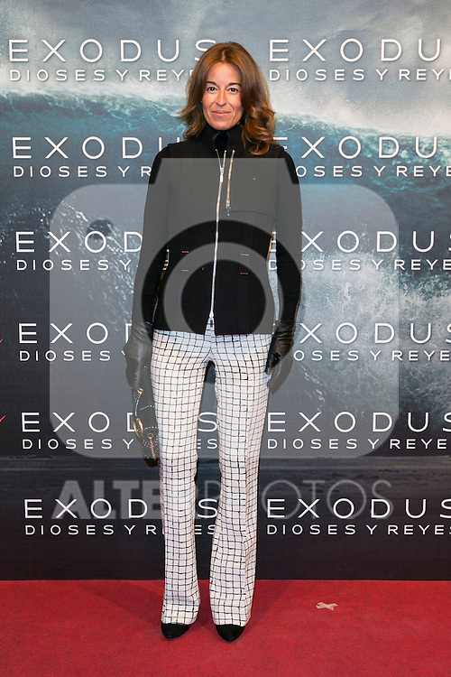 "Monica Martin Luke attend the Premiere of the movie ""EXODUS: GODS AND KINGS"" at callao Cinema in Madrid, Spain. December 4, 2014. (ALTERPHOTOS/Carlos Dafonte)"