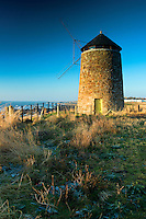 St Monans Windmill, St Monans, on the Fife Coastal Path, the East Neuk of Fife, Fife
