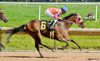 Royale Jacob winning at Delaware Park on 6/20/13<br /> tough day at the office for Glen