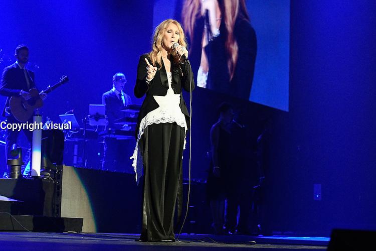 Celine DION performs live at AccorHotels Arena Paris-Bercy - June 24, 2016 - Paris - France